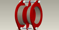 Two tie bar double tied expansion joints (TD)